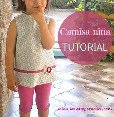 CAMISA PARA NIÑA / SHIRT FOR GIRL