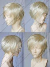 TT1116 New COSPLAY WIG Short Platinum-Blonde Fashion Wig +free gift