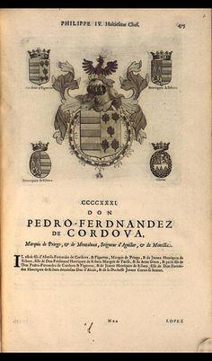 437. 1654; Luis Ignacio Fernández de Córdoba, 6th Duke of Feria (1623-1665).