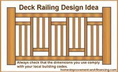 Image detail for -on what kind of railing to use for your deck railing design ideas ...