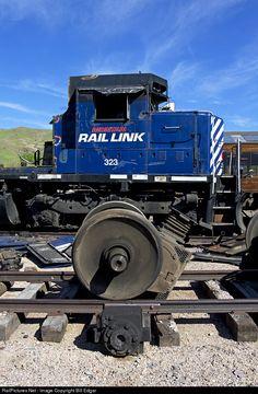 RailPictures.Net Photo: MRL 323 Montana Rail Link EMD SD45 at Livingston, Montana by Bill Edgar