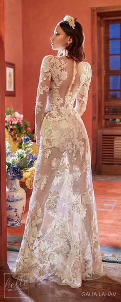 Wedding dress by Galia Lahav Couture Bridal - Fall 2018 - Florence by Night - Cherry Blossom