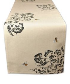Look what I found on #zulily! Busy Bees Embroidered Table Runner #zulilyfinds