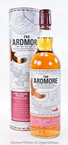 Ardmore Whisky Port Wood Finish Region : Highland 46 % alc./vol. 0,7l nicht kühlgefiltert ohne Farbstoff