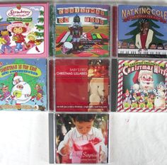 Childrens Kids #Christmas 8 Cd Lot Pottery Barn On Toys Einstein Nat Strawberry #ChildrensMusic