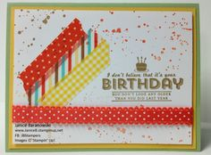 Bright Birthday Grunge by stampingdietitian - Cards and Paper Crafts at Splitcoaststampers