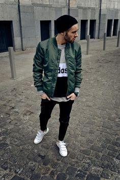 Macho Moda - Blog de Moda Masculina: Jaqueta Verde Militar Masculina: Pra Inspirar e Onde Encontrar