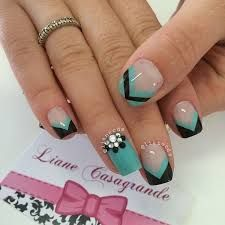 Image result for metallic nails designs