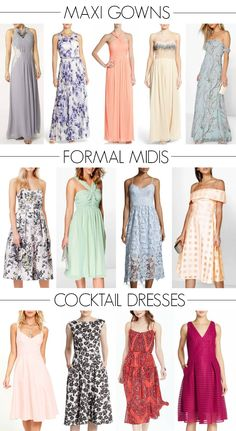 Affordable wedding guest attire - dresses for every body shape & budget