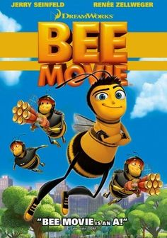 Bee Movie (Widescreen) on DVD from DreamWorks Home Ent. Directed by Steve Hickner and Simon J. Staring Jerry Seinfeld, Renee Zellweger, Patrick Warburton and Ray Liotta. More Comedy, Family and Animated Feature Films DVDs available @ DVD Empire. Kid Movies, Family Movies, Cartoon Movies, Great Movies, Disney Movies, Movies To Watch, Movies And Tv Shows, Movie Tv, Movies Free