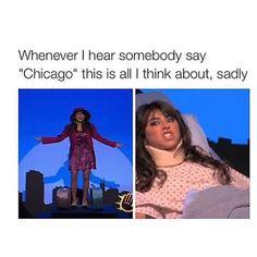 Oh, Victorious.... CHICAGOOOOO CHICAAGOOOOOOO