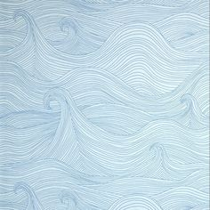 Seascape wallpaper is available in two colour ways. Winter is a black line drawing on white ground and Summer is bright blue lines on a soft grey ground. The drawing is inspired by the rolling waves of a tempestuous s. Waves Wallpaper, Of Wallpaper, Summer Wallpaper, Nautical Wallpaper, Wallpaper Pictures, Designer Wallpaper, Eclectic Wallpaper, Drawing Wallpaper, Wallpaper Designs