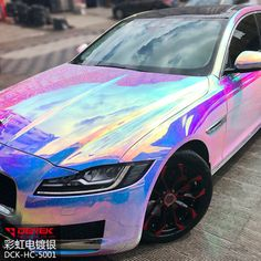 Source New Finish Rainbow Chrome Green Vinyl Wrapping Film for Car Decoration Bu… Source New Finish Rainbow Chrome Green Vinyl Wrapping Film for Car Decoration Bu…,Vinyl wrap car Source New Finish Rainbow Chrome Green. Holographic Car, Vinyl Wrap Car, Car Wrap, Car Stickers, Adhesive Vinyl, Wrapping, Chrome, Wraps, It Is Finished