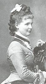 Princess Marie of Waldeck & Pyrmont (1857-1882) Wife of William II of Wurtttemberg- died in childbirth w/her third child a stillborn girl.