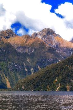 Milford Sound can sure make you feel small - New Zealand is probably one of the most photogenic country's on earth.  | The Planet D: Adventure Travel Blog