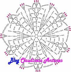 Blusa de Croche Selena Gomez - Gráfico e Tutorial em Vídeo Form Crochet, Crochet Chart, Crochet Granny, Learn To Crochet, Crochet Motif, Crochet Doilies, Crochet Flowers, Crochet Patterns, Selena Gomez