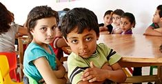 Syrian refugees - children_Home is a Refugee Camp! 5 Million have fled their war-torn Country !2 yrs.ago 10 000´s come to a Camp in Iraqui-Kurdistan.