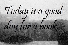 Yes, it is and moreover, it's always a good day for a book!