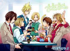 Tags: Anime, Final Fantasy VII, Final Fantasy X, Tidus, Cloud Strife