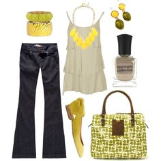 lemon lime, created by htotheb.polyvore.com