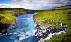 Hraunfossar, Iceland by Carsten Meyerdierks on 500px