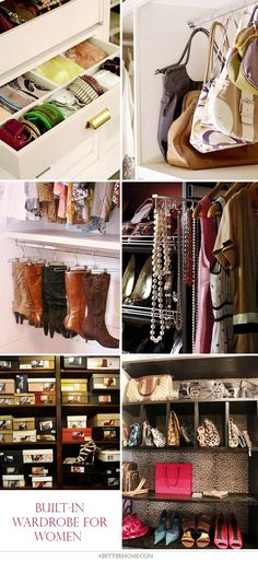 Great Ideas and Useful Tips to Create Built-In Wardrobe for Men, Women and Children