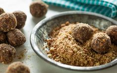 Make these cereal balls with a secret ingredient (coffee!) for an easy road trip snack or special treat for your college student. Feel free to substitute unsweetened almondmilk for the coffee to make a kid-friendly variation.