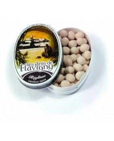 French Gourmet Food Store - Abbaye de Flavigny · Anis pastilles, oval tin · 50g (1.8 oz)-Bonbons CANDIES