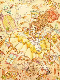 「不思議の国のアリス」 「Alice in Wonderland」 Illustration:Shoko.h