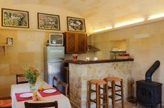 country house-barcelo-kitchen-dining room