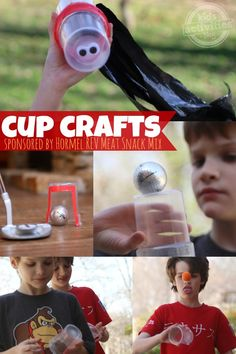 3 Ways to make clear plastic cups into something amazing...