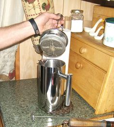 Beautiful Stainless 8-Cup French Coffee Press by Aicok Only $21.99 @ Amazon and Prime Eligible. A terrific deal that will likely last the life of the press.  McNeilGraphix PurchasesMadeSimple Amazon AmazonPrime Aicok AicokFrenchPressCoffeeMaker