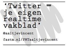 Twitter volgens @aaltjevincent