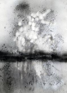 Untitled, Swing Low Series Bradley LaMere Charcoal