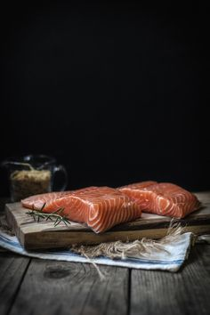 Rosemary Encrusted Salmon with a Sesame Ginger Kale