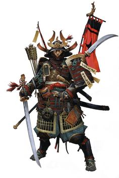 A samurai. Samurai is the Japanese word for someone bound by honor. These men dedicated their lives to their daimyo, Shogun, and their emperor. They would master all of the arts to their best abilities. Even the art of killing.