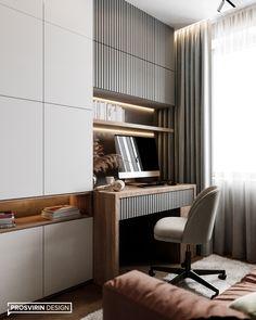 Bedroom Bed Design, Bedroom Furniture Design, Modern Bedroom Design, Office Interior Design, Home Office Decor, Home Decor, Office Furniture, Study Table Designs, Study Room Design