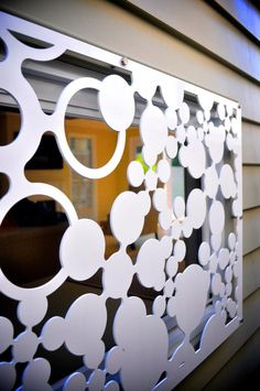 Safety without taking anything away from style!   Bespoke Laser cut Screens, Aluminium, Security, Burglar Bars