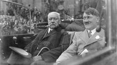 2 October 1847. Paul von Hindenburg (left) was born. He was German President (1925-1934) and brought Hitler to power