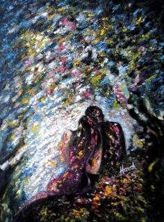 Love Painting -  Love Shower by Harsh Malik