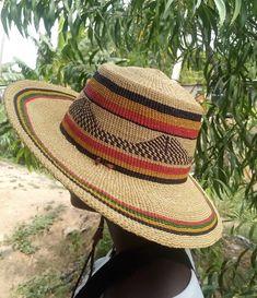 Straw sun hat / sweet grass sun hat / summer hat / summer hat essentials/ sweet grass hat/Germany hat color Winter Bedroom Decor, Ghana Flag, African Beads Necklace, Summer Hats, Hat Making, Hats For Men, Sun Hats, Me Too Shoes, Grass