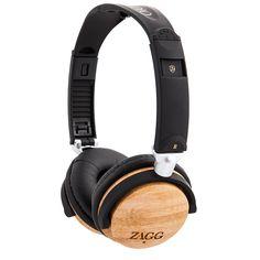 ZR-T Wooden Travel Headphones | ZAGG