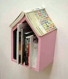 Bedside bookshelf