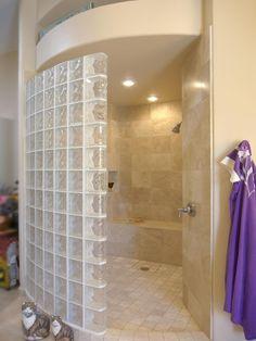 shower with no door   No shower doors