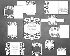 Wedding Invitation Pocket Envelope X Cricut Silhouette Cameo