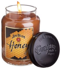 Jim Beam Honey Bourbon Scented Candles | Bass Pro Shops