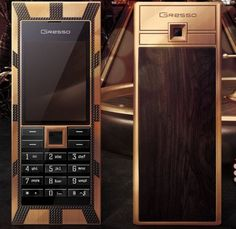 One of the Top 10 World Class and Most Expensive Mobile Phones--This is a very special edition of most expensive mobile phones, since there are only three units available on this earth! Priced at $1 million, lovers of luxury mobile phones go gaga over this phone because of its Egypt inspired design!