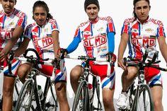 Brigitte Lacombe's Stunning Portraits of Arab Lady Athletes - The Jordanian women's cycling team