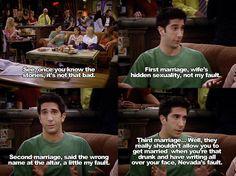 Ross' divorce stories
