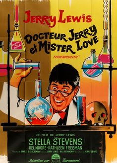 The Nutty Professor (1963) Original French Grande Movie Poster